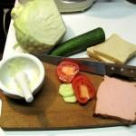 Leberkäse Sandwich