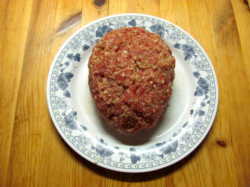 Hackfleisch mit Zwiebel und Knoblauch 2