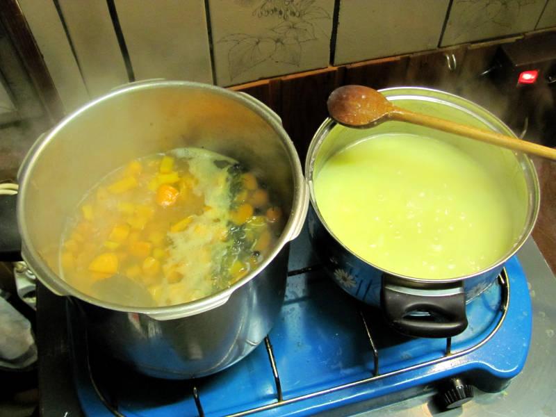 Möhrensuppe-mehr Möhren als Suppe