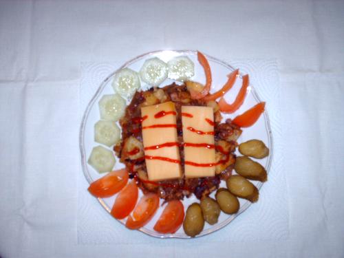 Bratkartoffeln Weißkohl-mit-Gauda